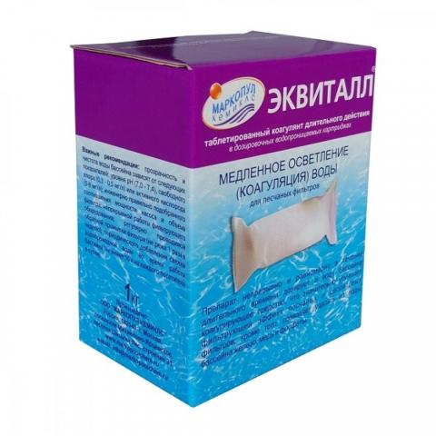 products/Средство для бассейна Маркопул Эквиталл, осветление воды 1кг, арт. ХИМ05