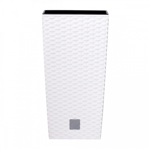 products/Кашпо для цветов Prosperplast Rato Square 37+91,5л, белый, арт. DRTS400-S449