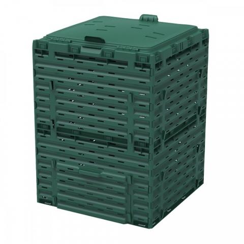 products/Компостер Piteco 300 л зелёный с крышкой, арт. К2130