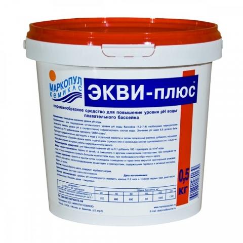 products/Средство для бассейна Маркопул Экви-плюс, повышение PH воды 0,5кг, арт. ХИМ08