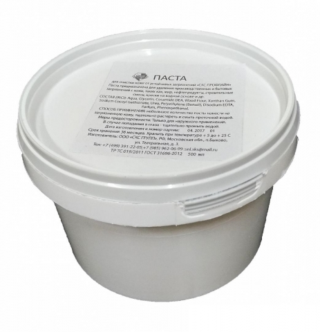 products/Паста очищающая СКС ProfLine™ с натуральным абразивом 500мл (ведро), Факел арт. 87458161