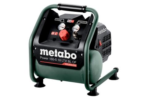 products/Компрессор аккумуляторный без АКБ и ЗУ Metabo Power 160-5 18 LTX BL OF 601521850