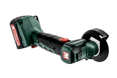 products/Аккумуляторная угловая шлифмашина Metabo PowerMaxx CC 12 BL 600348500, 2x2.0 Ач, кейс