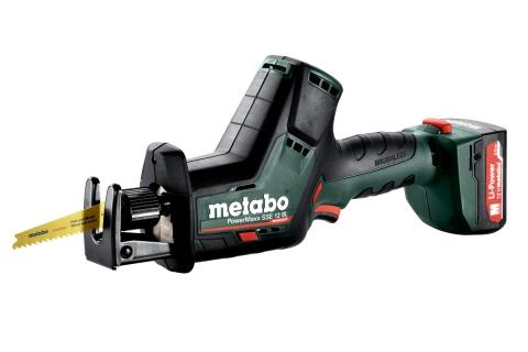 products/Аккумуляторная ножовка Metabo PowerMaxx SSE 12 BL 602322800, LiHD, пластиковый кофр