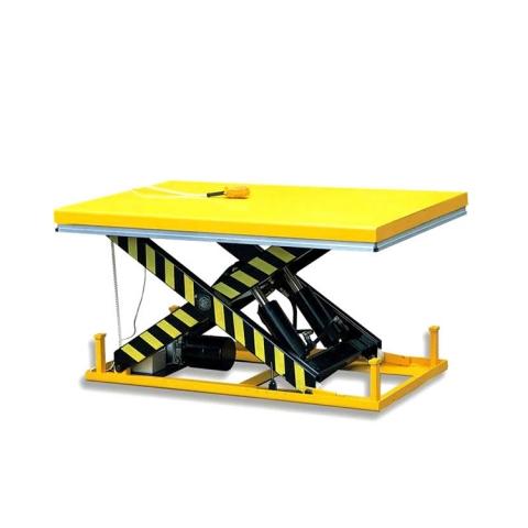products/Стол подъемный стационарный TOR HW1001 1003049 г/п 1000кг, подъем 205-990мм