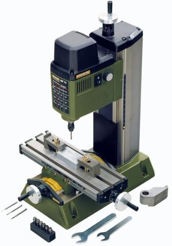 products/Высокоточный фрезерный мини станок Proxxon MF 70 - по дереву, по металлу 27110