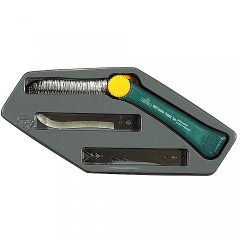 """products/Нож садовода RACO """"3-в-1"""", три сменных лезвия из нерж. стали, 265 мм"""