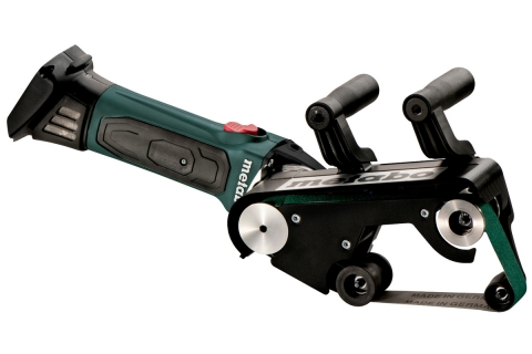 products/Аккумуляторная ленточная шлифмашина для труб Metabo RB 18 LTX 60 (600192850), без АКБ и ЗУ