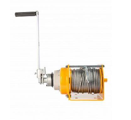 products/Лебедка ручная TOR JHW-1 (г/п 1,0 т, длина троса 40 м)