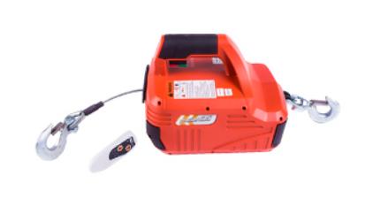 products/Лебедка электрическая переносная TOR SQ-01 450 кг 4,6 м  220 В (без пульта)