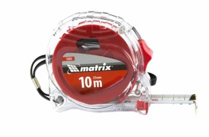 products/Рулетка Crystal, 10 м х 25 мм, корпус из поликарбоната MATRIX