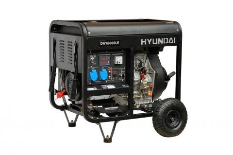 products/Генератор дизельный Hyundai DHY 8000LE