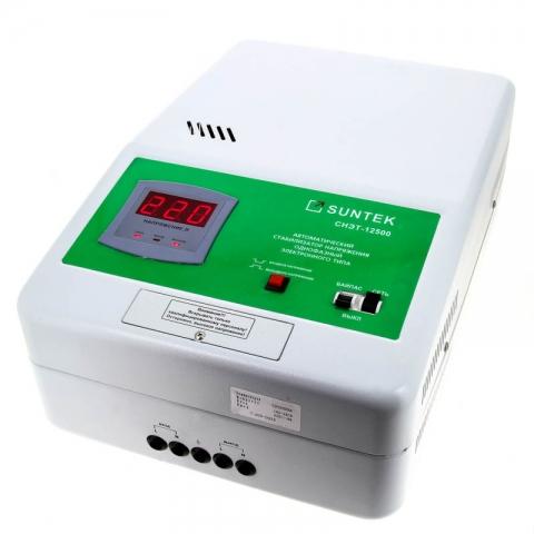 products/Релейный стабилизатор напряжения SUNTEK 12500 ВА, 120-285В, 3 года гарантии