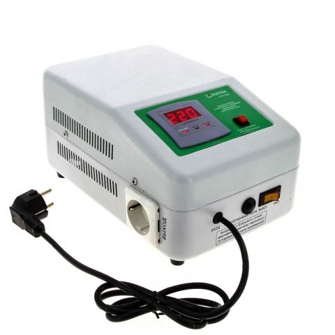 products/Релейный стабилизатор напряжения SUNTEK 550 ВА, 120-285В, 3 года гарантии