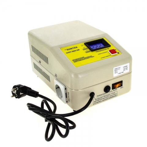 products/Стабилизатор напряжения SUNTEK 2000 ВА ЭМ, 120-285В, 3 года гарантии