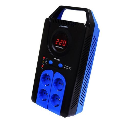 products/Релейный стабилизатор SUNTEK PR-1500ВА, 120-285В, 3 года гарантии
