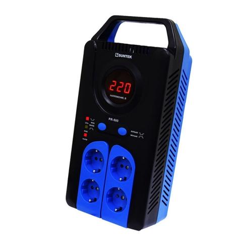 products/Релейный стабилизатор SUNTEK PR -500ВА, 120-285В, 3 года гарантии