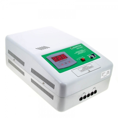 products/Релейный стабилизатор напряжения SUNTEK 5000 ВА, 120-285В, 3 года гарантии