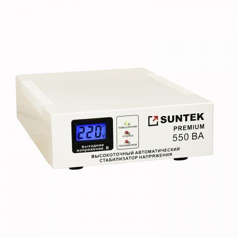 products/Электромеханический стабилизатор напряжения SUNTEK 550 Premium 220/110 120-285В, 3 года гарантии
