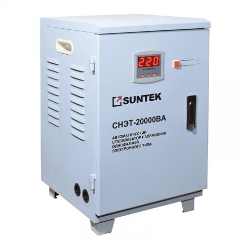 products/Релейный стабилизатор напряжения SUNTEK 20000 ВА, 120-285В, 3 года гарантии