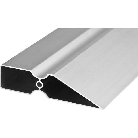 "products/Правило ""Ergo-Plus"", KRAFTOOL 10733-1.0, тип TRK-трапеция ""DuoGrip"", усилен анодированный алюмин профиль, цилиндр ребро жесткости, 1,0м"