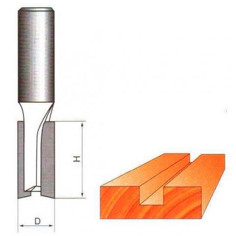 products/Фреза Globus 1003 D6 пазовая прямая