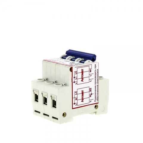 products/Устройство защиты от отгорания нуля и перенапряжений УЗОН SUNTEK-C 50А, 1 год гарантии