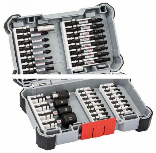 Набор профессиональной оснастки Impact Control: биты,держатели и торц.ключи 2608522365